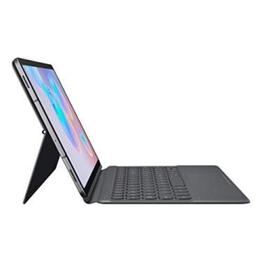 Capa Protetora com Teclado, Samsung, Galaxy Tab S6, Preto/Cinza