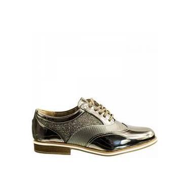 c43ab0de6 Sapato Feminino Oxford Via Marte: Encontre Promoções e o Menor Preço ...