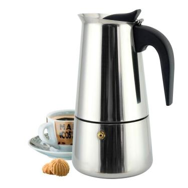 Imagem de Ke Home Cafeteira Italiana Inox 9 Xicaras Moka Café Expresso 450ml 3409