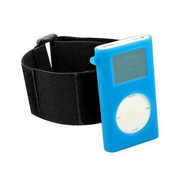 Capa De Silicone Ipod Mini Com Braçadeira - Azul - Digicom