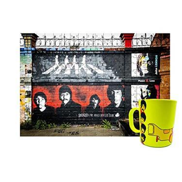 Imagem de Quebra-cabeça Beatles 165 Peças + Caneca Yellow Submarine