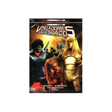 Dvd Box Vingadores Do Espaço Volume 2 4 Dvds