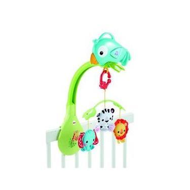 Imagem de Móbile 3 em 1 Amigos da Floresta - Fisher Price - Mattel CHR11