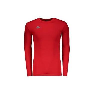 Camisa Térmica Kappa Grip Vermelha