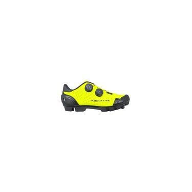 Imagem de Sapatilha Ciclismo Mtb Absolute Prime II Amarelo Fluor