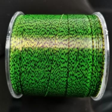 Linha de pesca de 500m de futebol, linha invisível camuflada 3d de borracha de nylon para pescar 239020893