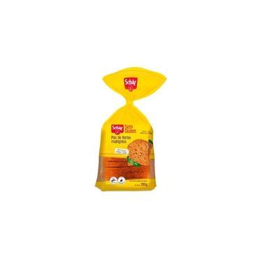 Pão de Forma Multigrãos sem Gluten Lactose Vegan Schar 200g