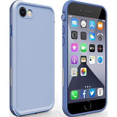 Capa Love Beiddi para iPhone SE 2020 à prova d'água, capa para iPhone 8 7 à prova d'água com protetor de tela, capa de celular à prova de choque Life para iPhone 8 7 SE 2020 4,7 polegadas (iPhone 7/8/SE 2020 ClovePurple)