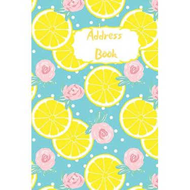 Address Book: A to Z address book to record and organise all your contacts. Never loose friends contact details again. Keep organised. Blue design with lemons