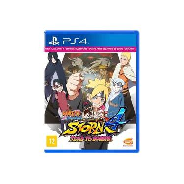 Game Naruto Shippuden Storm 4 Road to Boruto - PS4
