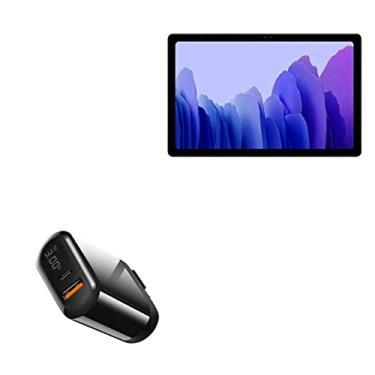 Carregador BoxWave para Samsung Galaxy Tab A7 (7 polegadas), carregador de parede PowerDisplay PD (18 W)] para Samsung Galaxy Tab A7 (7 polegadas) - preto
