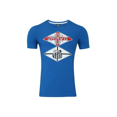 Camiseta do Santos Nations The Kingdom Umbro - Masculina - AZUL Umbro a602b66f319af