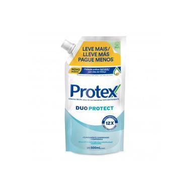 Protex Duo Protect Sabonete Líq Antibacteriano Refil 500mL