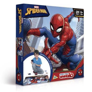 Imagem de Quebra-Cabeça Grandão - 120 Peças - Disney - Marvel - Spider-Man - Toy