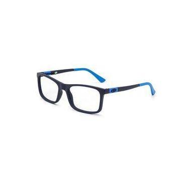 59386cdfd Armação Oculos Grau Infantil Mormaii Slide Nxt M6068k8050 Azul Escuro