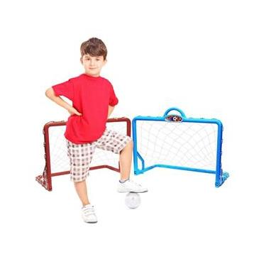 Imagem de Mini Trave de Futebol Infantil - Gol a Gol - Braskit