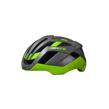 Capacete High One Pro Space Cinza/Verde - M