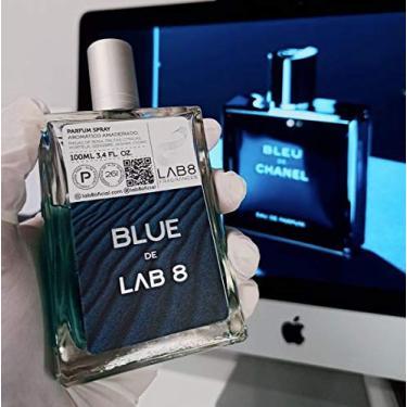 Imagem de Perfume LAB 8 Blue 100ml - Inspirado em Bleu da Chanel