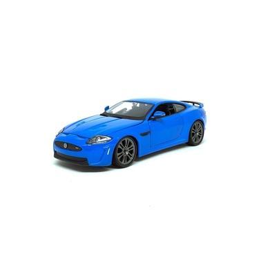 Imagem de Miniatura Carro Jaguar XKR-S - Azul - 1:24 - Burago