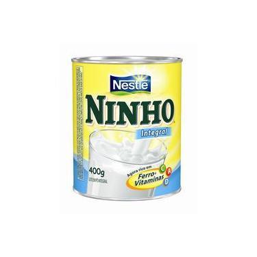 Leite Em Pó Ninho Integral 400 Gramas - Nestlé