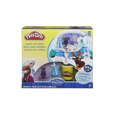 Imagem de Conjunto Play-Doh Frozen Globo de Neve Brilhante B0656 - Hasbro