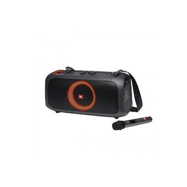 Caixa de som portátil JBL PartyBox On The Go Bluetooth Com Microfone Preto