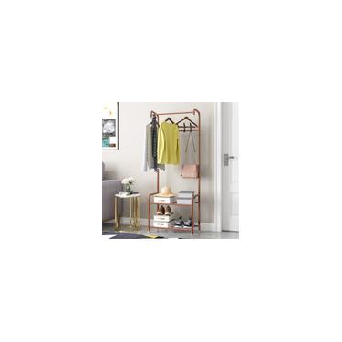 Cabides de cabideiro para chão de ferro pendurado prateleira de armazenamento Cabide de roupas Cabide de cabide de guarda-roupa Móveis de quarto