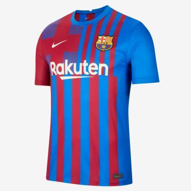 Imagem de Camisa Nike Barcelona I 2021/22 Torcedor Pro Masculina