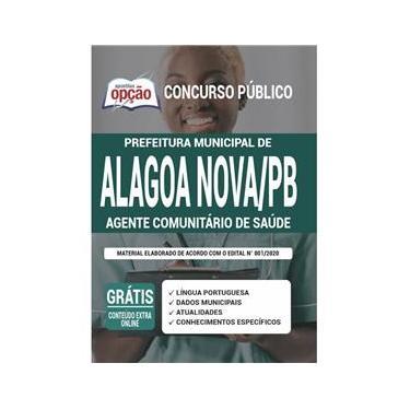 Imagem de Apostila Alagoa Nova Pb - Agente Comunitário De Saúde