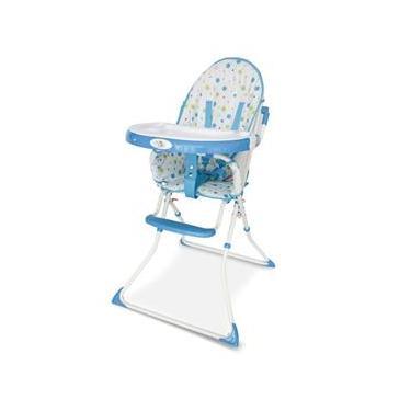 Cadeira Alimentação Bebe Flash Baby Style Azul