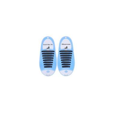 Sapato de silicone criativo em renda sem lavagem Lazy Shoel cadarço elástico casual sapato de renda