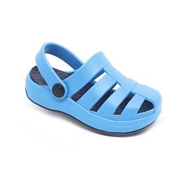 Babuche Sandália Plugt Pop Azul Neon