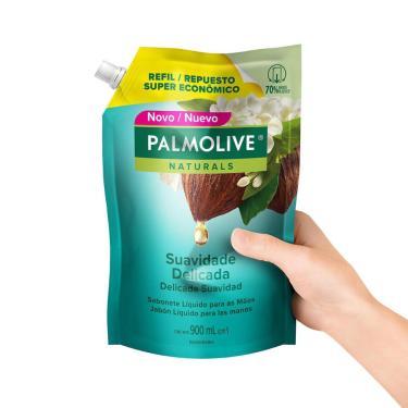 Sabonete Líquido Palmolive Naturals Suavidade Delicada para as Mãos 900ml