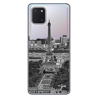 Capa Personalizada Samsung Galaxy Note 10 Lite - Torre Eiffel - MC13