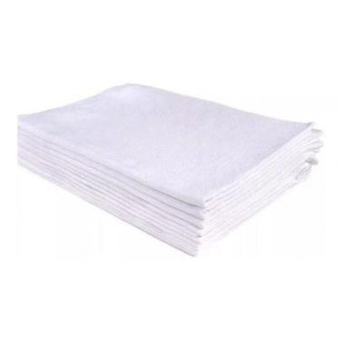 Pano De Prato Branco Atacado O Legítimo Kit Com 20 Peças - Rubber Stor