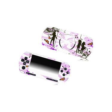 Fashion Skins p/ PSP Slim - Rosa - Tech Dealer