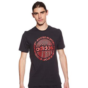 Camiseta Adidas Performance Circled