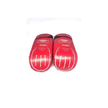 Kit Personal Sports Par De Luva Bate Saco Punch + Par De Luva De Foco Manopla Ótima Qualidade