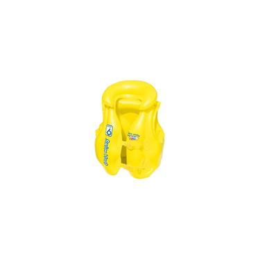 Imagem de Colete Inflável Infantil Premium Amarelo Mor