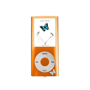 MP4 Logic FL670 TF Entr p/micro SD tela 1.8 Laranja