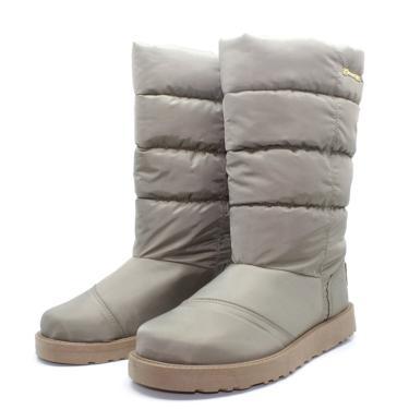 Bota Barth Shoes Snow Caqui  feminino