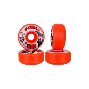 Roda Para Skate Moska 55mm 53D Laranja