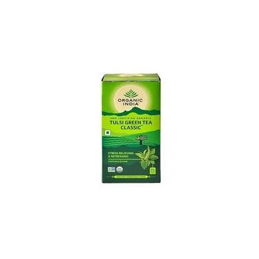 Chá Tulsi Verde Organic Índia 25 Sachês