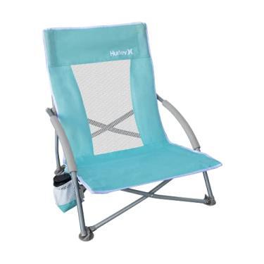 Imagem de Hurley Low Sling Outdoor Folding Chair, Tropical Twist