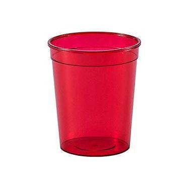 Copo Plástico 60 ml Vermelho com 50 unidades - Regina Festas