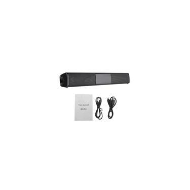 Imagem de Sem fio Soundbar 3D Sound Home Theater HiFi Speaker System Subwoofer Música Suporte Wireless Speaker tf fm aux-in