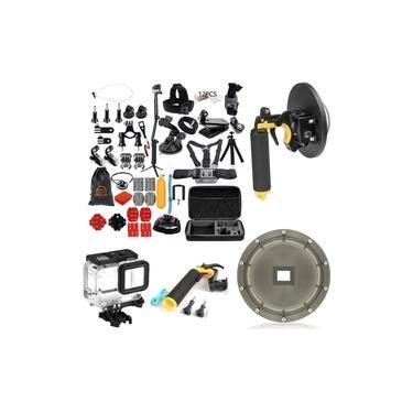 Kit Com Acessórios E Suportes Para Câmeras GoPro Hero 5 Hero 6 Hero 7 Black Gopro 2018 Gopro 4K Sports