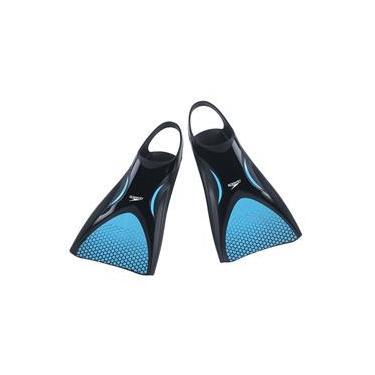 Nadadeira Powerfin Azul - Speedo