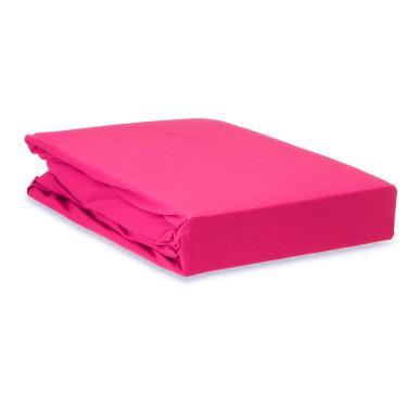 Lençol com elástico na volta toda avulso Queen 170 Fios Pink