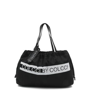 Bolsa Colcci Fitness Lettering Preta Colcci Fitness 090.57.00015 feminino